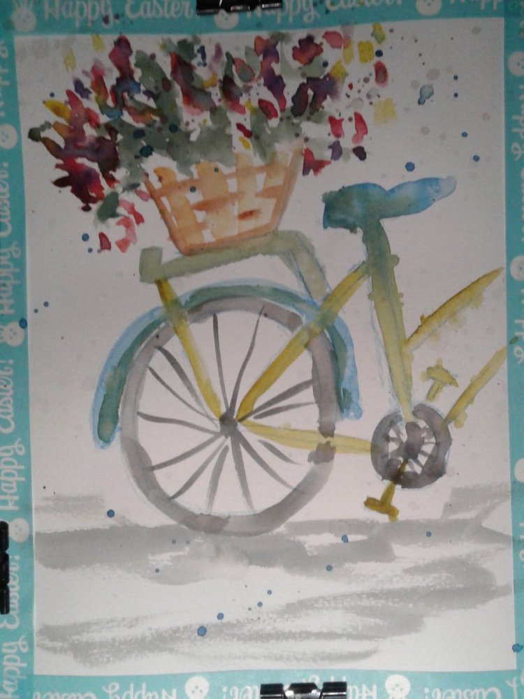 Bicycle… Once upon a time I rode a bicycle everywhere. It was nothing to ride all over the nei