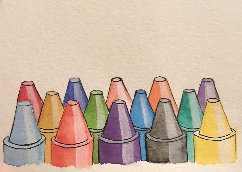 Crayons – April 6, 2019 #doodlewashAril2019 ACEDC174-1D4E-40DC-9FA8-96ED8DF45BB7