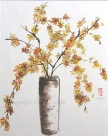 Return of Spring, Ink & Watercolor - C. Coville - Doodlewash