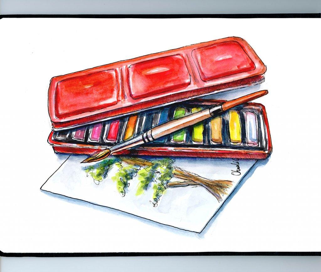 Beginner Watercolor Art Supplies - Doodlewash
