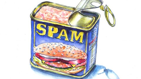 Day 12 - Spam Can Illustration - Doodlewash