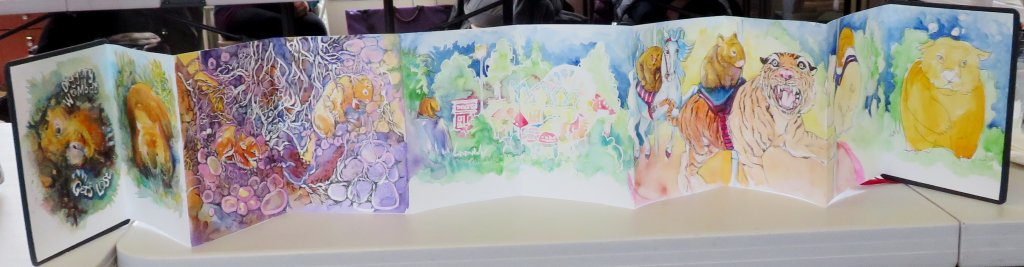 Zig zag book complete - Sandra Strait - Doodlewash