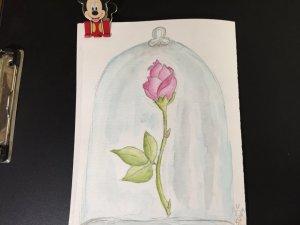 Well, it's a rose under glass. Lol 02FAED0C-42FE-4549-A7C3-C785E3DF3690