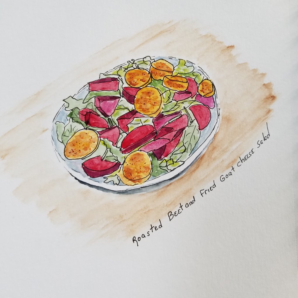 Roasted beets are yummy and can be served so many ways. 20190530_142041