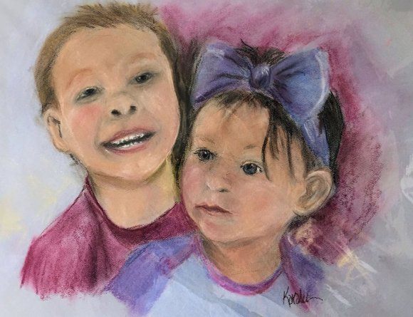 Pastel by Karalee Hammes - Doodlewash