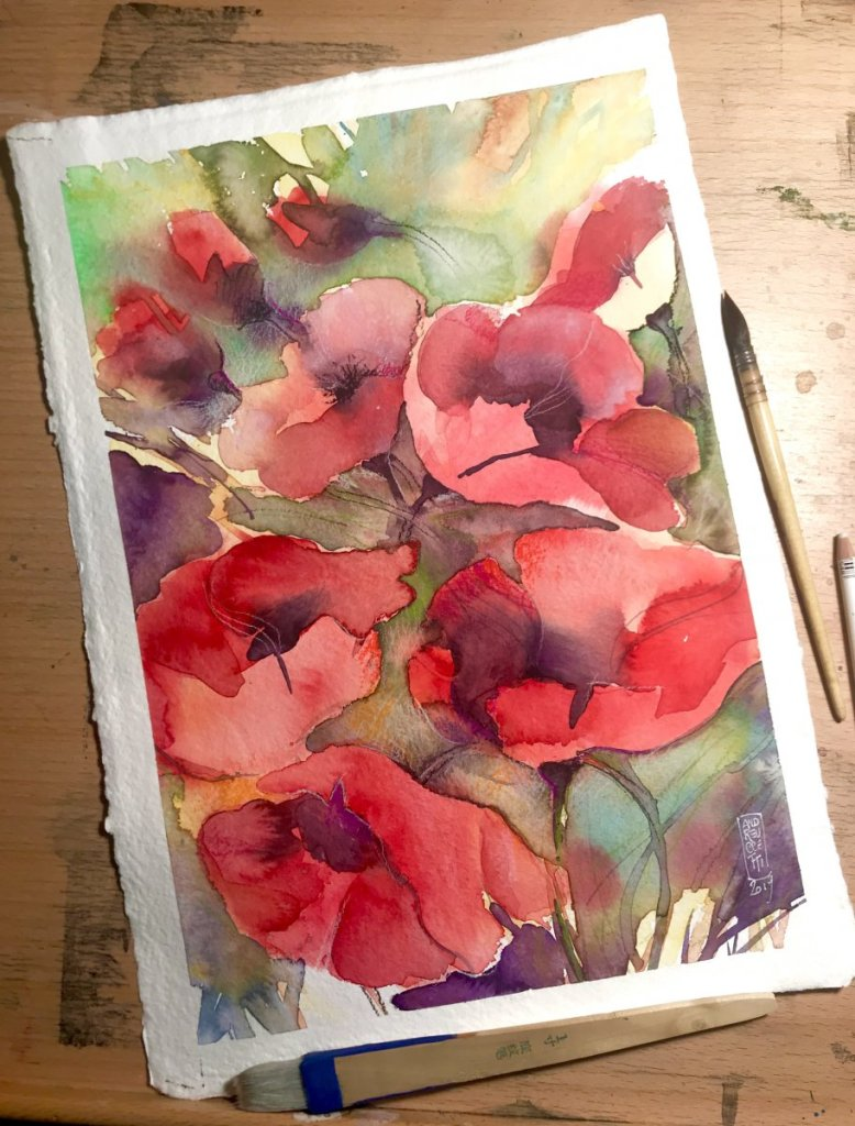 Watercolors on cotton paper IMG_2515IMG_1982IMG_2475IMG_2478IMG_2481IMG_2483IMG_2503IMG_2504