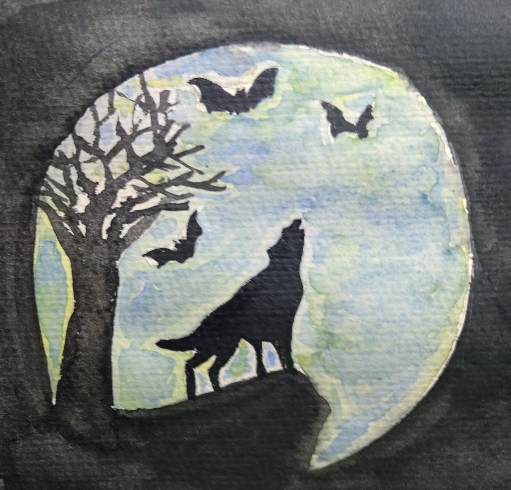 Blue Moon For today's prompt IMG_20190530_234319