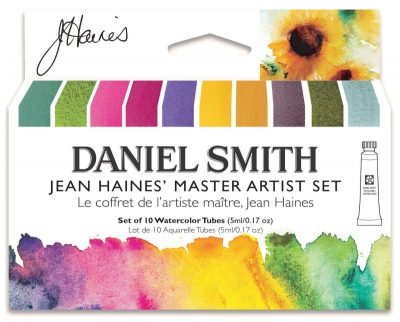 Jean Haines Master Artist Set Daniel Smith Watercolor