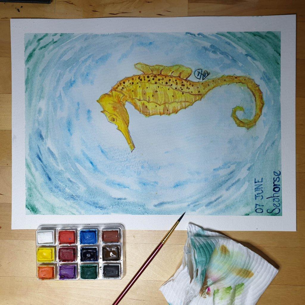 07 June – Seahorse 20190607_095941