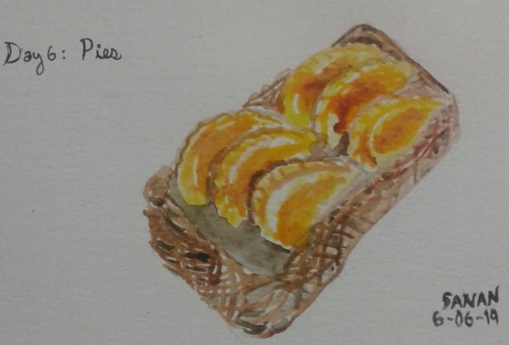 Dia 6: Pies #doodlewashjune2019 #pies #worldwatercolorgroup #acuarela #rayatubetero #beteroecuador #
