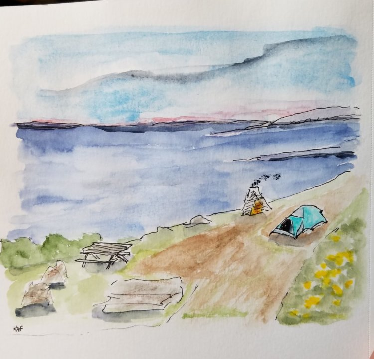 Hermit Island on the coast of Maine was my favorite place for family camping. This was one of the be