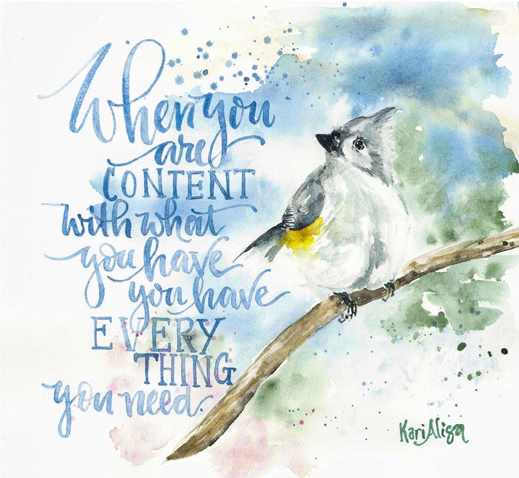 Bird Watercolor Painting by Kari Alisa Watson - Doodlewash