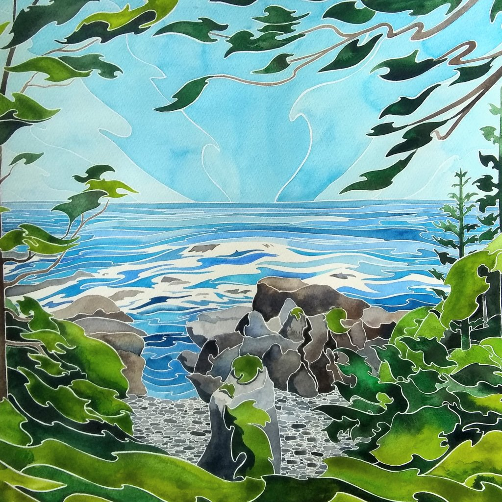 Joy. Daniel Smith watercolour on Fabriano Artistico 16 x 20 IMG_20190608_065438_249