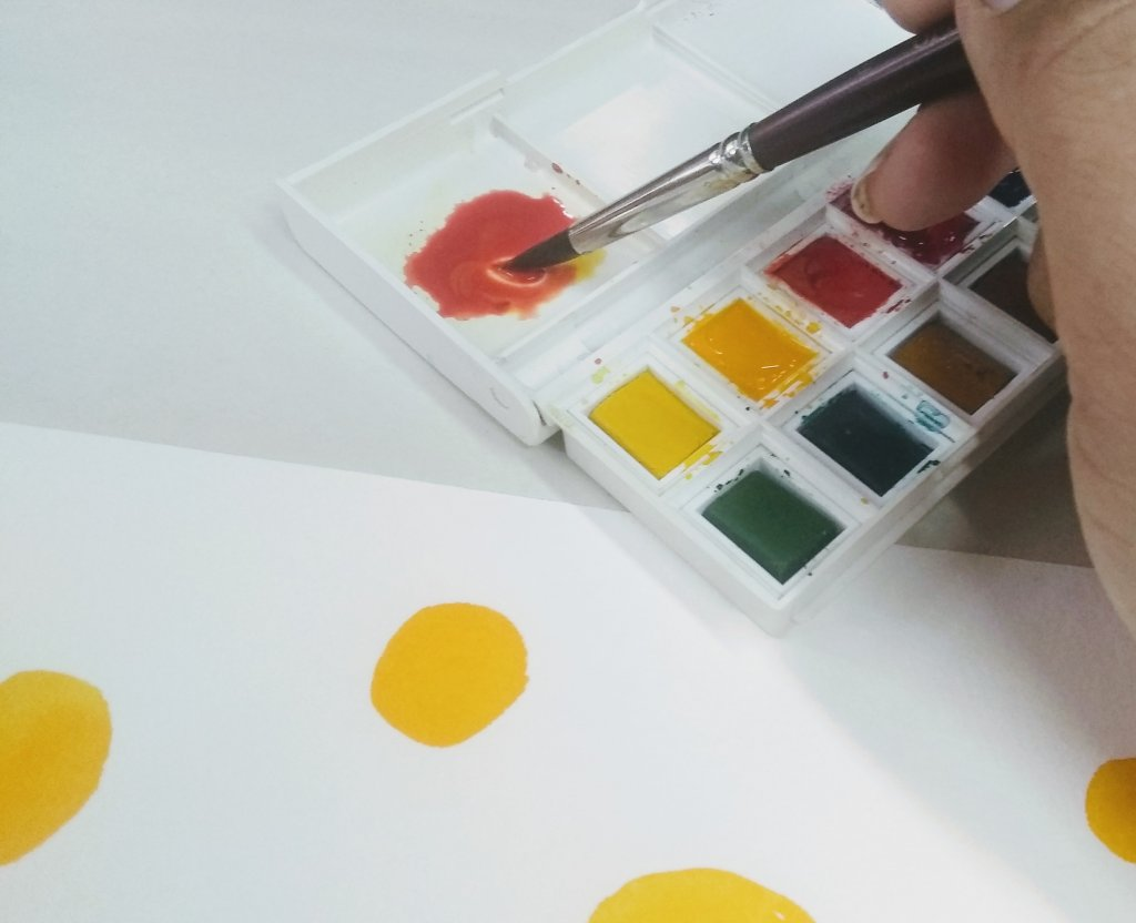 Van Gogh Watercolors In Paint Box