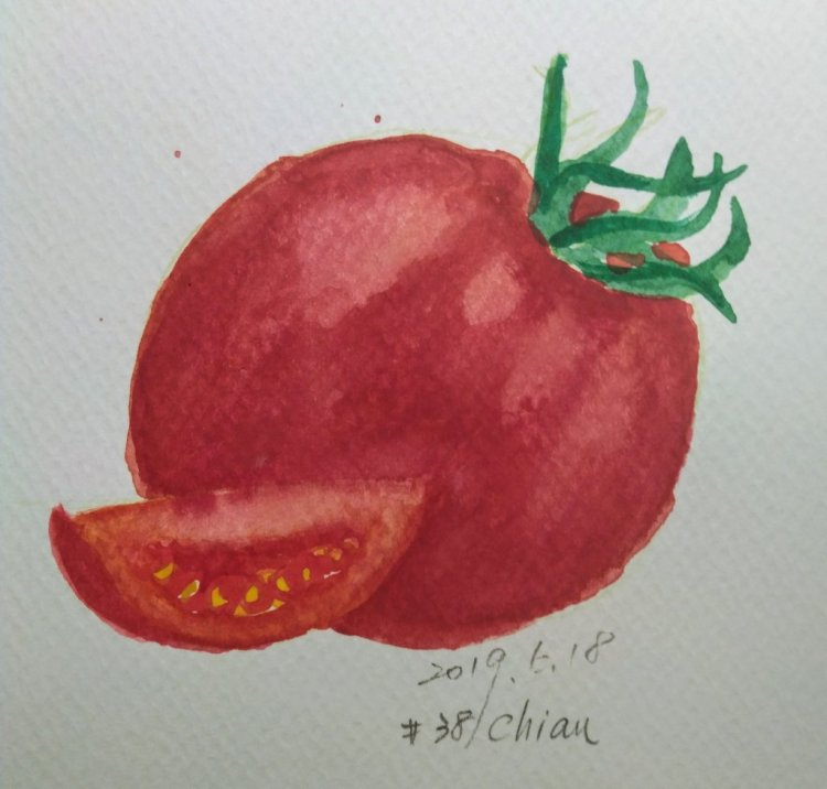 Tomatoes For day 18 prompt IMG_20190618_214958