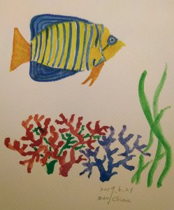 underwater For day 20 prompt IMG_20190622_004057