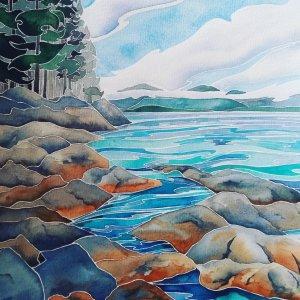 Quietude. Daniel Smith watercolour on Fabriano Artistico 11 x 14 IMG_20190625_191126_983