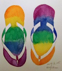 Sandals Day 25 prompt IMG_20190625_230119_052