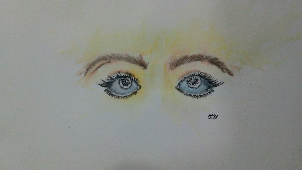 Day29 Camera um looking into the camera create a special eye and soul contact.. #doodlewashJune2019