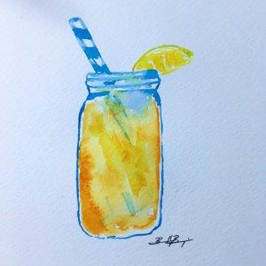 July 2 – Drinks – Ahh summertime iced tea in a mason jar! 832D355C-B844-4ED5-9FEB-CBEA2D