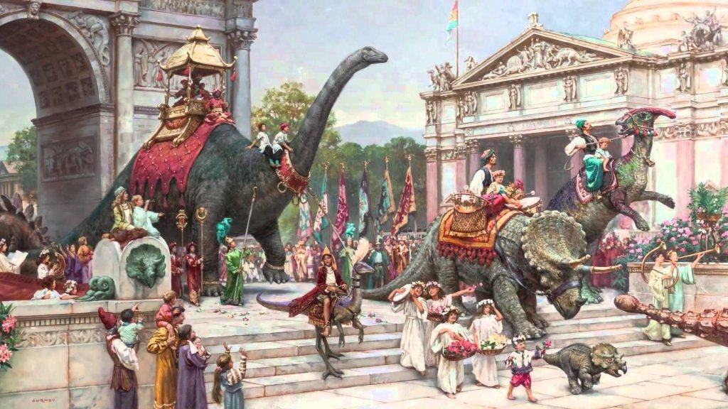 Dinotopia Cover Illustration James Gurney