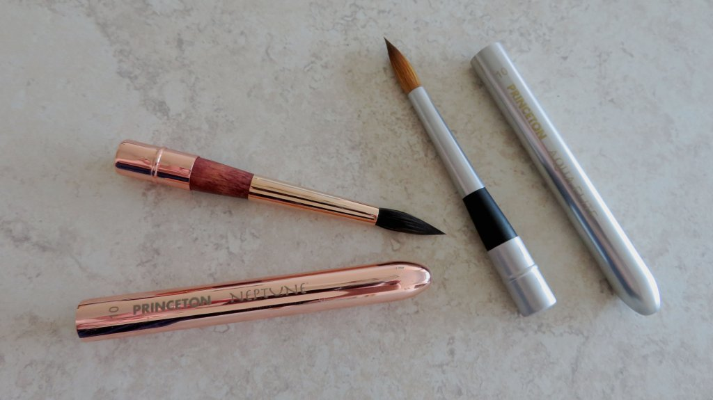 Princeton travel Aqua Elite And Neptune brushes
