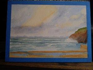 Beach Scene from Charles Evans' book. 20190720_083246