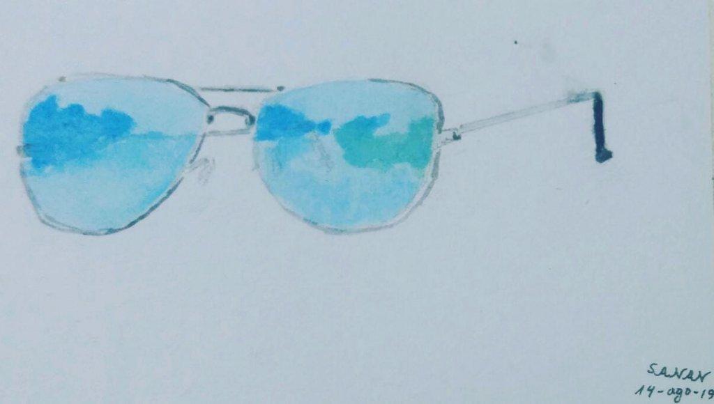 Me gustan estas gafas, son muy utiles cuando son viajes largos en carretera El Desafío Día 14: Sun