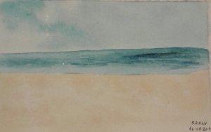 Dia 16:#beach – – – – – – – – #worldwatercolorgroup #worldwatercolorgroup2019 #arte_