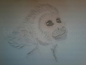 When I was a kiddo I actually did have a monkey for a short while. A friend of my aunt and uncles dr