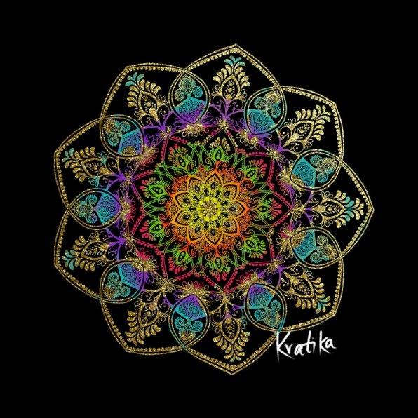 Mandala Digital Illustration by Kratika Agarwal