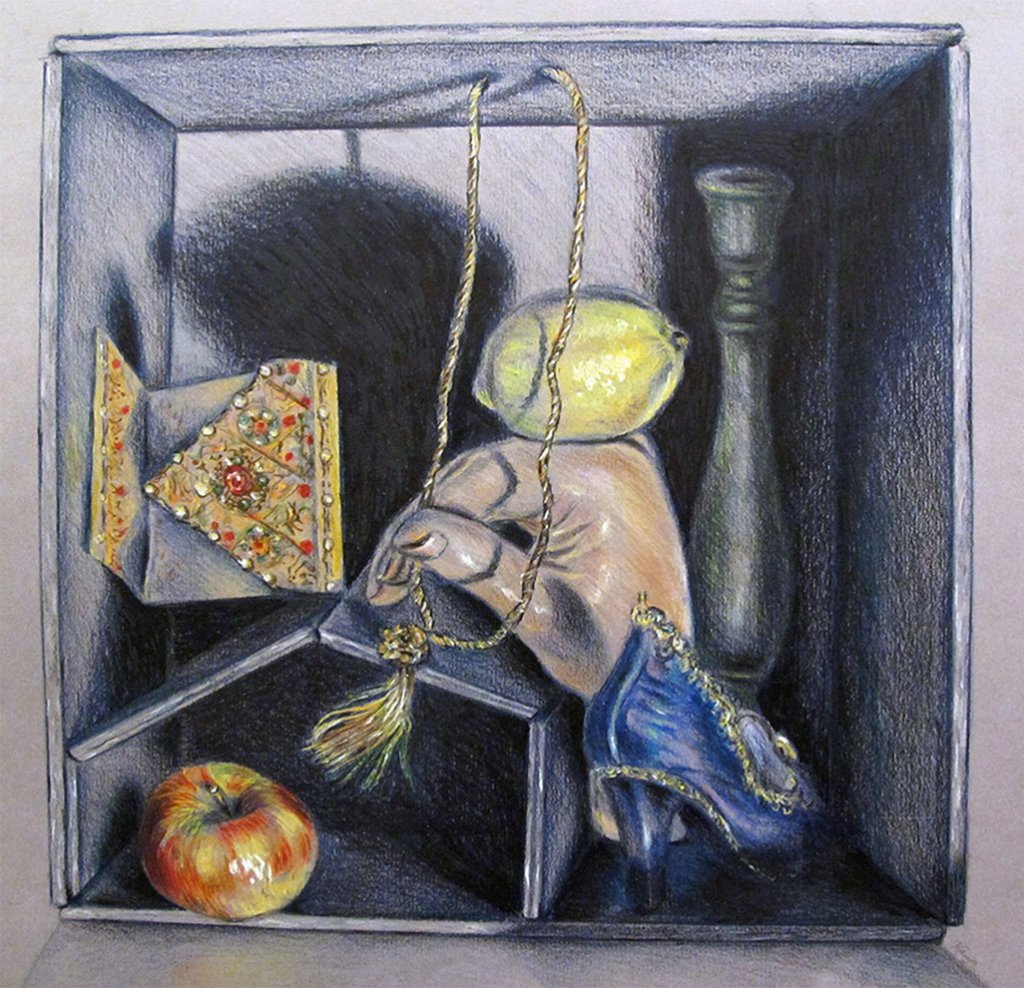 Portable Still-Life Colored Pencil