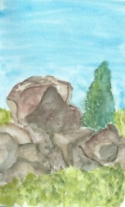 August travelog: Boulders in Big Cottonwood Canyon Trip 3