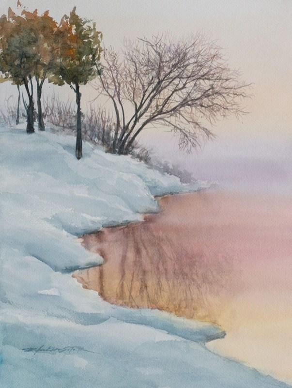 Winter Reflection by Rafael DeSoto Jr