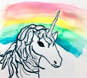 #doodlwashOctober2019 #doodlewashOctober2019AutumnFun Day 15: Unicorn 376B266F-6165-47DB-97F2-FF2FEB