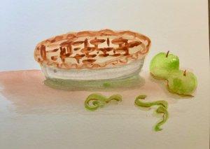 #doodlwashOctober2019 #doodlewashOctober2019AutumnFun Day 10: Pies E524C0C7-6C40-4991-8B26-D9103B36B