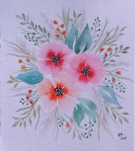 Painted on #Meedenwatercolorpaper with #Meedenwatercolors from their 148 piece art set. I have a rev