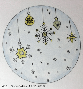 #Snowflakes Good Morning! I finished this last night. I tried to scan this morning but the little sc