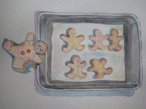Gingerbread -man cookies IMG20191204182811