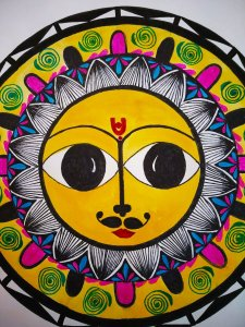 Madhubani painting is one of the many famous Indian art forms. As it is practiced in the Mithila reg