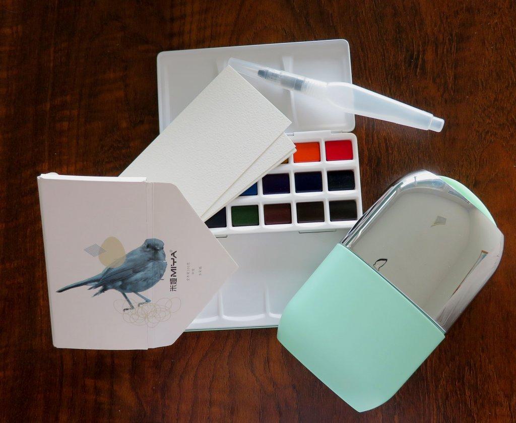 Miya Arts 18-Color Solid Watercolor Set Product Photo
