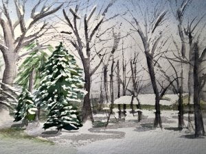 Tree Challenge December 17! Oshkosh Snowscene
