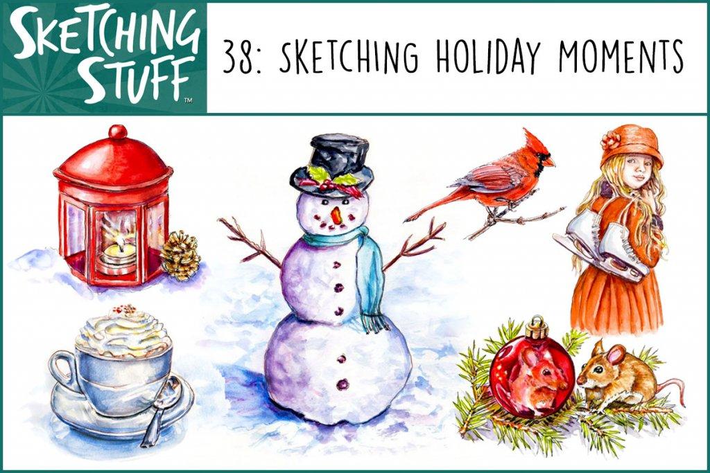 Sketching Stuff Podcast Episode 38 Album Art