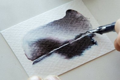 Fountain Pen Ink As Watercolor Wash Tutorial Image 9