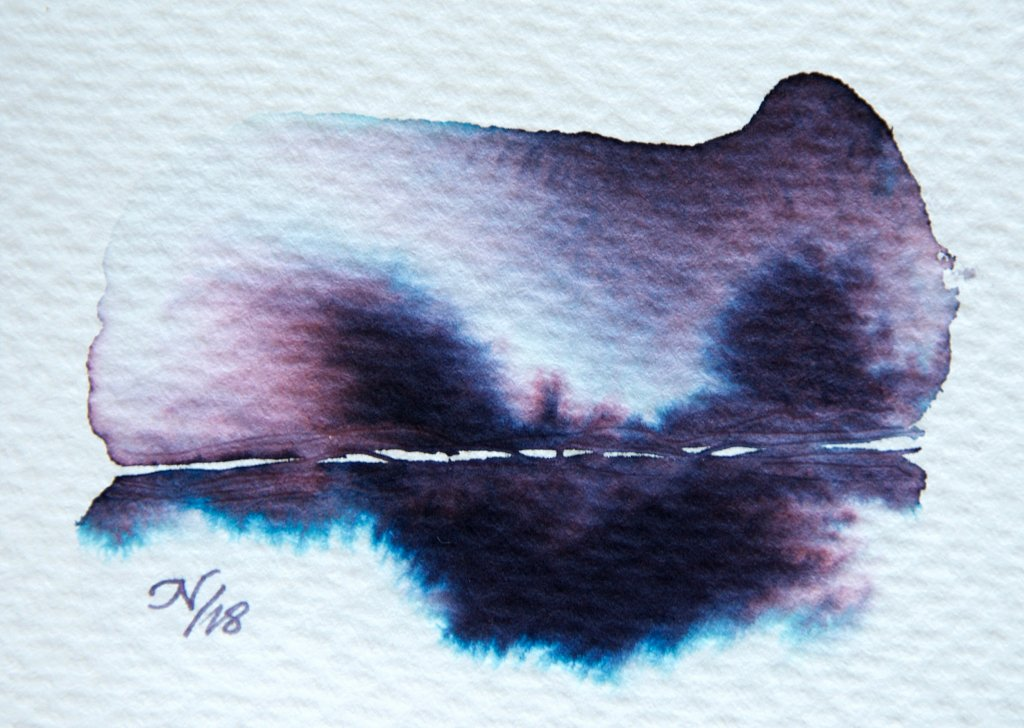 Fountain Pen Ink As Watercolor Wash Tutorial Image 14