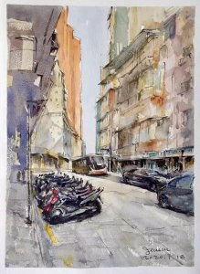 2020-1-18 An afternoon on Sidonio Pais Ave