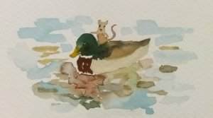 For the 13th prompt of January (Ducks). 20200114_000430~2