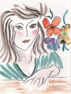 Also after a lithography of an original drawing by Henri Matisse, which he drew as an illustration f