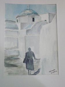 Woman Walking DSCF8283