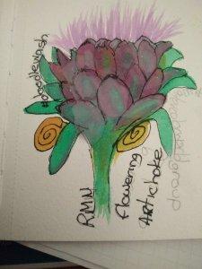 Flowering artichoke 1583980842435